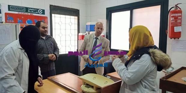 مرور مفاجئ لوكيل وزارة الصحة بالشرقية علي وحدة طب الأسرة ببني شبل  