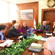 بالصور اللجنة المكلفة بإدراج محافظة بورسعيد ضمن مسار العائلة المقدسة