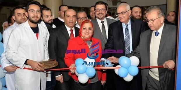 بحضور رئيس جامعة المنصوره افتتاح تجديدات قسم 7 جراحة بالمستشفى الجامعي |