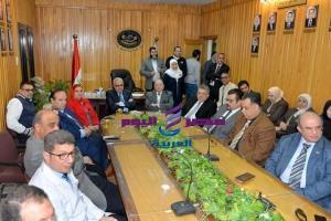 بحضور رئيس جامعة المنصوره افتتاح تجديدات قسم 7 جراحة بالمستشفى الجامعي