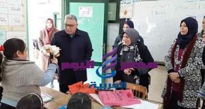 لجنة المتابعة تشيد بادارة مدرسة الشهيد المغربى بدسوق | لجنة