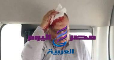طالب يعتدي علي أستاذه بطبنجه لفصله من جامعة الاسكندريه - الاسكندريه