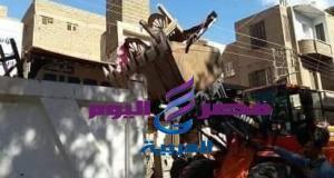 حملة مكبره لرفع الإشغالات بمركز بني مزار بمحافظةالمنيا | المنيا