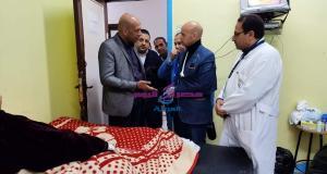 تقديم الخدمة الطبية لحالة إنسانية مصابة بمرض داء الفيل بالشرقية | الشرقية