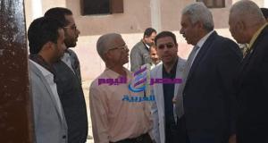 نائب رئيس جامعة الازهر للوجه القبلي يتفقد مطبخ المدينة الجامعية بأسيوط | رئيس