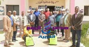 جامعة الوادي الجديد تدشن حملة تعقيم وتطهير لقري المحافظة
