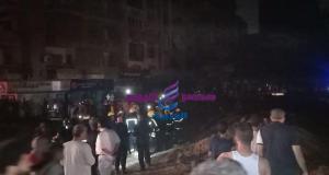 اللواء خالد عبد العال محافظ القاهرة يتفقد انفجار خط الغاز بحلمية الزيتون | اللواء