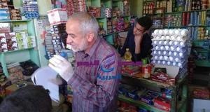 استمرار الحملات التموينية علي المحلات الأسواق المخابز بمراكز ومدن كفر الشيخ