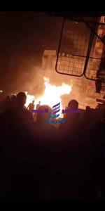 عاجل.. الحماية المدنية تسيطر على حريق ماسورة غاز كوبرى حلمية الزيتون