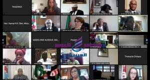 وزارة الأثار تشارك في المنتدى الإفتراضي الذي نظمته مفوضية الإتحاد الأفريقي AUC   وزارة الأثار