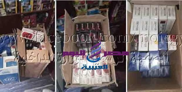 ضبط 3 محلات بالقاهرة بحيازة سجائر بقصد احتكارها