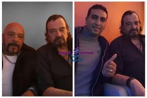 ياسر منصور ومحمد كامبا يهنئان جرير منصور بعيد ميلاده