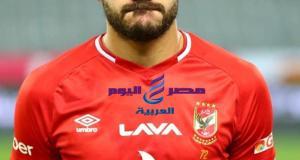 إصابة ياسر ابراهيم لاعب الاهلي أمام ودية الجونة
