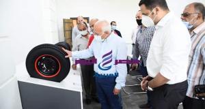 بتكنولوجيا ألمانيه وسواعد مصريه مصنع إنتاج الإطارات بالمنطقه الصناعيه | تكنولوجيا