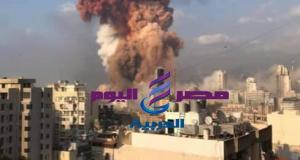 عاجل| انفجار هائل في العاصمة اللبنانية بيروت