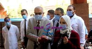 وزير التعليم العالي يفتتح مجمع العنايات المركزة بجامعة المنصورة | وزير التعليم العالي