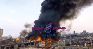الطائرات تتدخل للسيطرة على حريق بيروت وسط مخاوف من المواطنين.