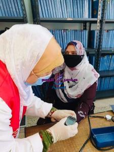 استمرار حملتي 100 مليون صحة وحياة كريمة بقرى كفر الشيخ