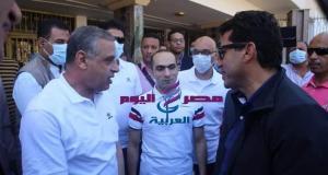 وزير الشباب والرياضة يصل سوهاج لجولة تفقدية بالمنشات الشبابية والرياضية | وزير الشباب