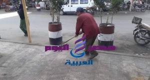 عامل النظافة مهمته إجتماعية نبيلة للإرتقاء بالمظهر الحضاري لشوارع مدينتنا