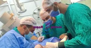 إجراء جراحة متقدمة للوجه والفكين والعظام بمستشفي فاقوس النموذجي | جراحة