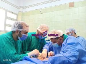 إجراء جراحة متقدمة للوجه والفكين والعظام بمستشفي فاقوس النموذجي
