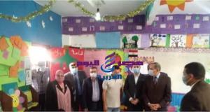 محافظ كفر الشيخ يتفقد سير العملية التعليمية بالمدارس | كفر الشيخ