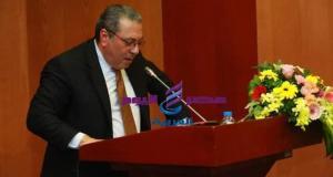 السفير المصري لدى فيتنام يلقي كلمة في مؤتمر التعاون بين فيتنام وأفريقيا والشرق الأوسط | السفير المصري