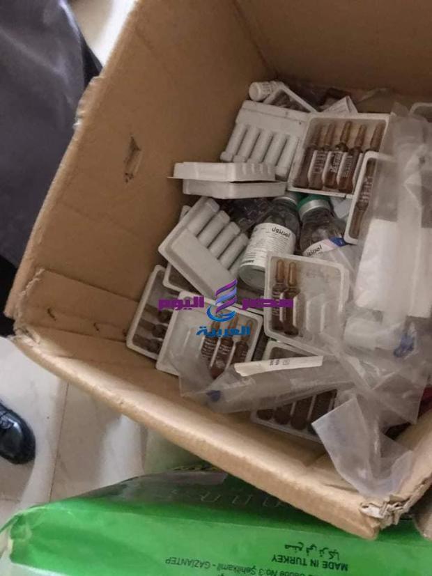 ضبط تلاعب بعهدة الأدوية المخدرة بمستشفي خاص بأبو كبير | ضبط
