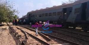 عاجل: توقف حركة القطارات على خط القاهرة عقب خروج قطار رقم 544 قادم من طنطا بمحطة الحلواصى | حركة