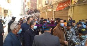 محافظ الغربية يقرر صرف تعويضات لضحايا حادث المنزل المنهار في منطقة ابوراضي بالمحلة