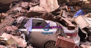 مصرع 6 أشخاص وإصابة اثنين وانقاذ 4 اخرين إثر انهيار منزل في منطقة ابوراضي بالمحلة | مصرع