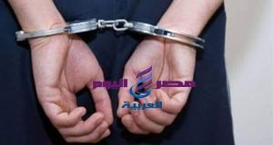 القبض على عنصر إجرامى شديد الخطورة مقيم بالمحلة الكبرى وبحوزته أسلحة نارية وذخائر
