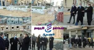 محافظ كفر الشيخ .. ومتابعة ميدانية للأعمال الجارية لتطوير الشوارع والمحاور الجديدة.