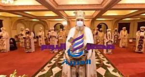 قداسة البابا يصلي قداس عيد الغطاس المجيد بالإسكندرية   قداسة