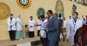 حملة فريق أبطال الدقهلية لتزيين عروس النيل