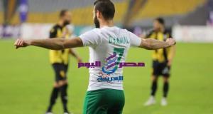 النادى المصري ينفرد بالمركز الثالث عقب الفوز علي المقاولون العنيد بهدف عمر كمال