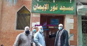 مدير أوقاف الرمل بالاسكندرية يوجه بالمتابعة الميدانية للمساجد والزوايا.   أوقاف