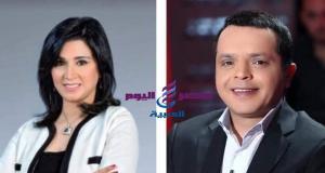 محمد هنيدى على شاشةنايل سينما بصحبة مروه السيد