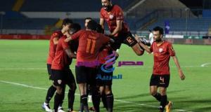 سيراميكا يفوز علي غزل المحله بثنائية نظيفة بالدوري