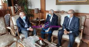 محافظ بورسعيد يستقبل نائب وزير التعليم لمتابعة مستجدات العملية التعليمية | محافظ بورسعيد