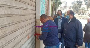 حملة مكبرة للتفتيش على المنشآت الصناعية أسفل العقارات السكنية بالأسكندرية | حملة