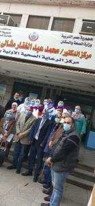 رئيس الطب الوقائى بالوزارة يتابع الحملة القومية لتطعيم شلل الأطفال بالغربيه | رئيس