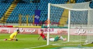 فى مباراة قوية الأهلى يفوز على المصرى بهدفين مقابل هدف. | الأهلى