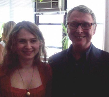 With Mike Nichols at NAW 2008