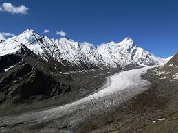Major Glacier in Himachal Pradesh