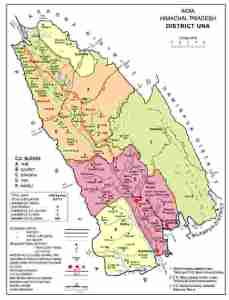 Read more about the article Brief Geography of District Una – HP