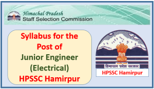 Syllabus for the Post of Junior Engineer (Electrical) HPSEBL – HPSSC Hamirpur