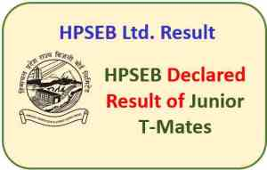 Read more about the article HPSEB Ltd. Junior T/Mates and Junior Helpers Result