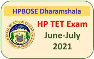 Read more about the article HP TET June-July 2021 Exam : Apply Online